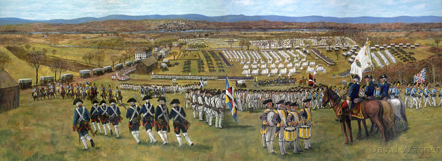 French Army Encampment at East Hartford